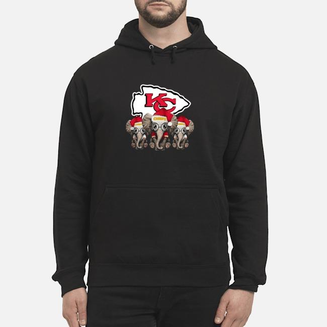 Kansas City Chiefs Elephants Christmas Hoodie