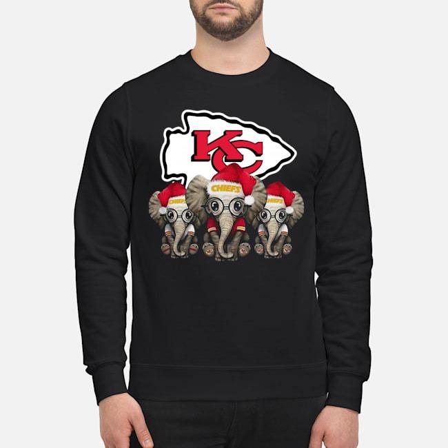 Kansas City Chiefs Elephants Christmas Sweater