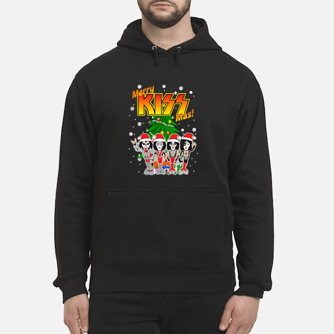 Kiss Band Merry Kissmas Hoodie