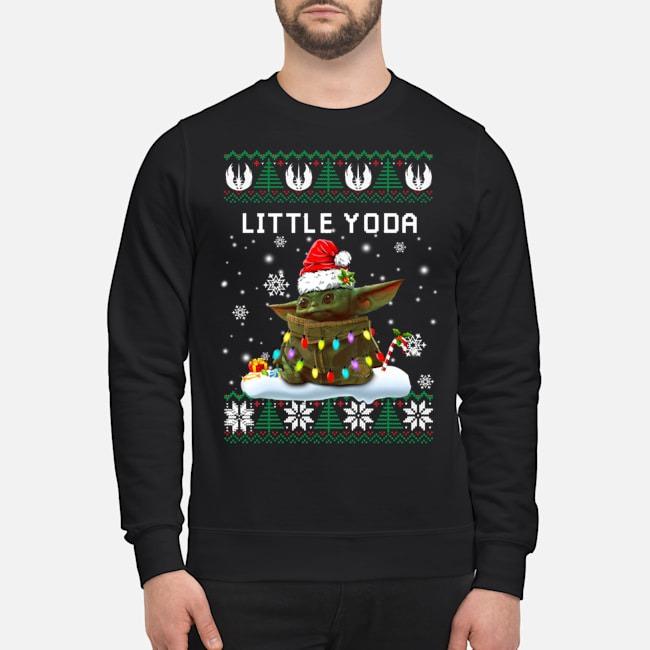 Little Yoda Ugly Christmas Sweater