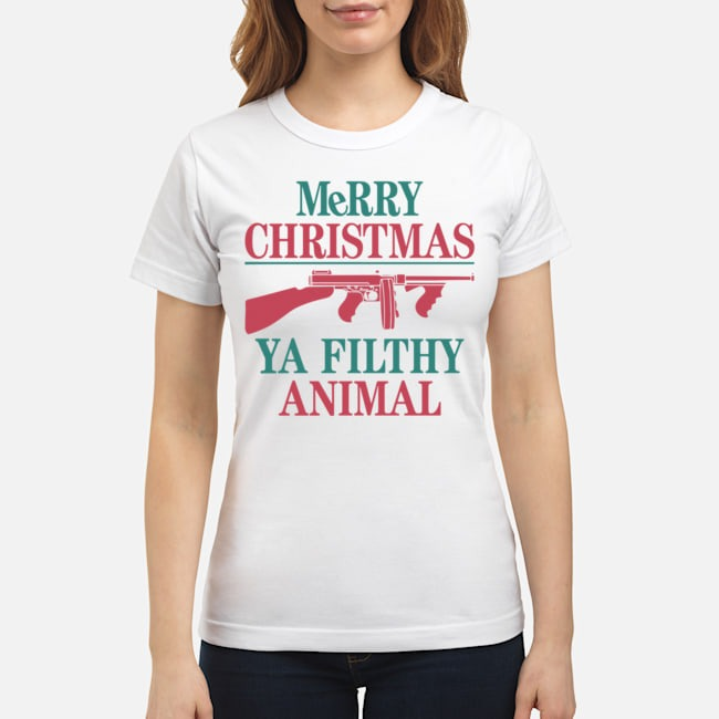 MeRRy Christmas Ya Filthy Animal Ladies