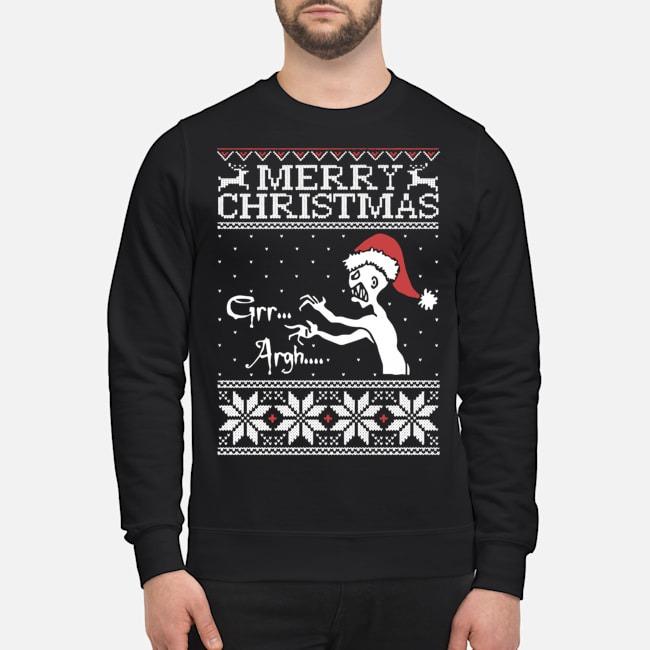 Merry Christmas Grr Argh Buffy Vampire Slayer Ugly Sweater