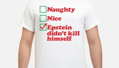Naughty Mice Epstein Didn't Kill Himself Shirt
