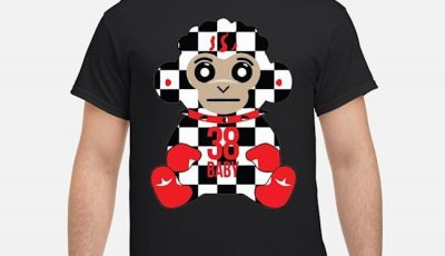 Never Broke Again 38 Baby Monkey Checkers Shirt