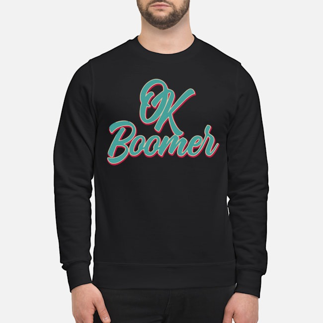 Official Ok Boomer Sweater