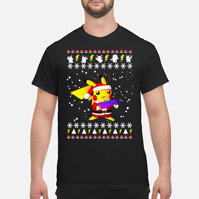 Pikachu Pokemon Ugly Christmas Shirt