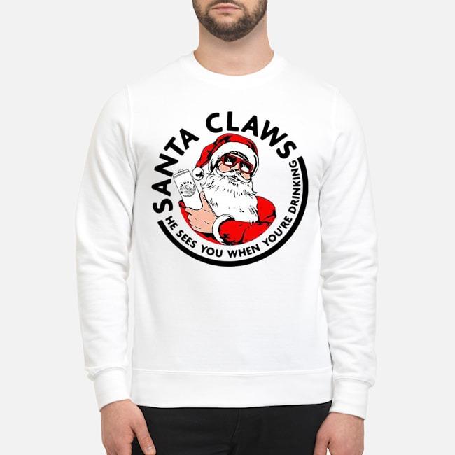 https://kingtees.shop/teephotos/2019/11/Santa-Claws-he-sees-you-when-you_re-drinking-White-Claw-Christmas-sweatershirt.jpg
