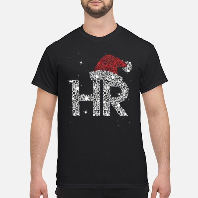 Santa HR Human Resources Diamond Christmas shirt