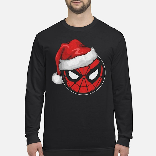Santa Spider Man Christmas Long Sleeved T-Shirt
