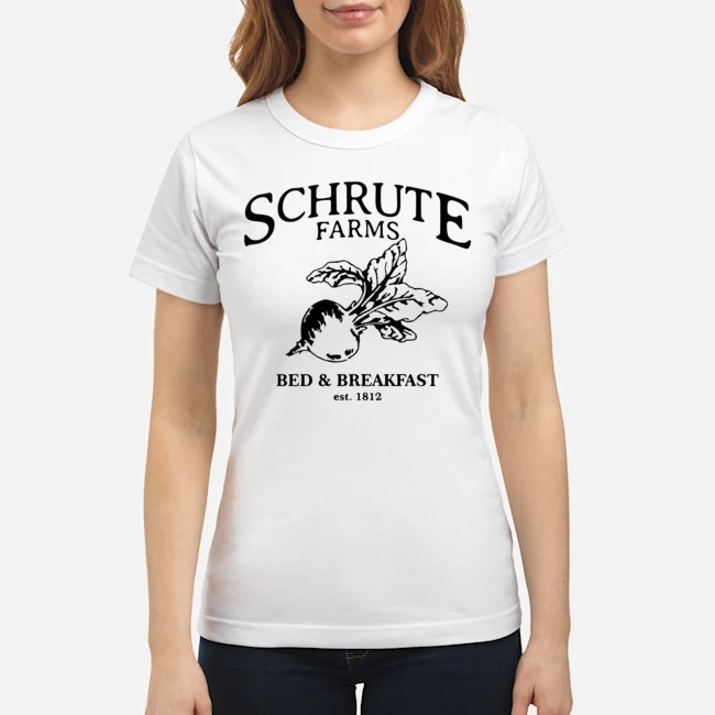 Schrute Farms Bed And Breakfast Est 1812 Ladies