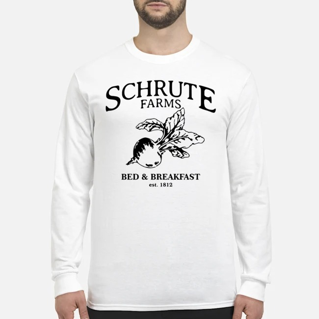 Schrute Farms Bed And Breakfast Est 1812 Long Sleeved T-Shirt