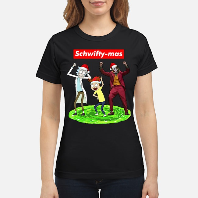 Schwifty-mas Rick and Morty Joker dancing Christmas Ladies