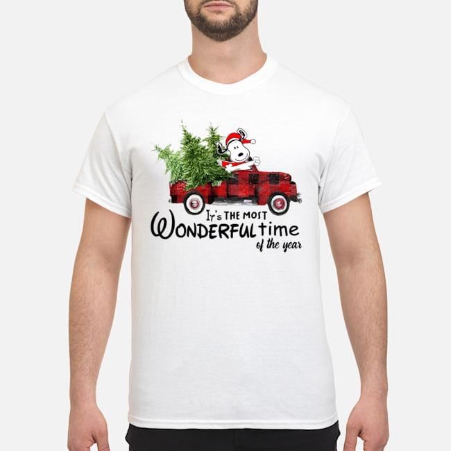 https://kingtees.shop/teephotos/2019/11/Snoopy-Truck-Its-The-Most-Wonderful-Time-Of-The-Year-Christmas-Shirt.jpg