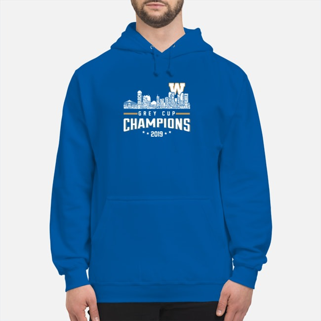 Winnipeg Blue Bombers City Grey Cup Champions 2019 Hoodie