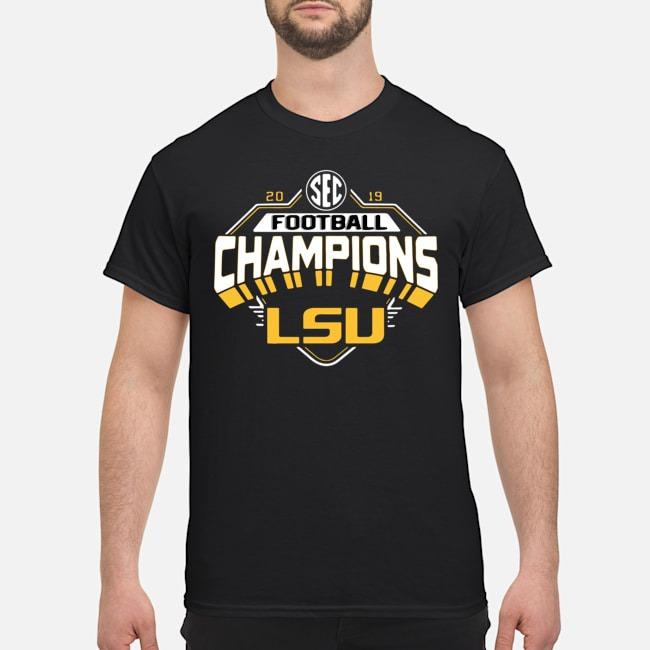 2019 LSU SEC Football Championship Shirt