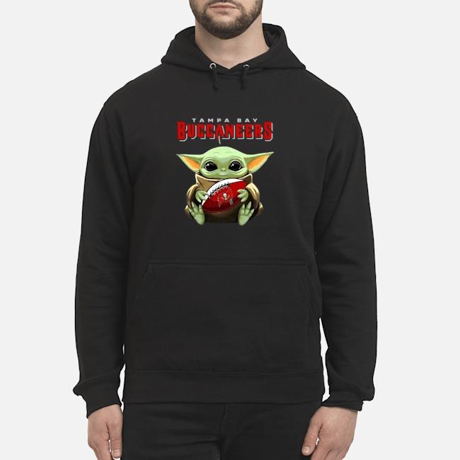 Baby Yoda Hug Tampa Bay Buccaneers Hoodie