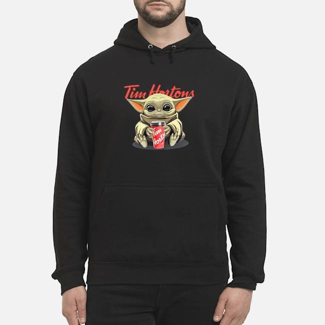 Baby Yoda Hug Tim Hortons Hoodie