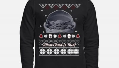 Baby Yoda The Mandaloria What Child Is This Ugly Christmas Sweater