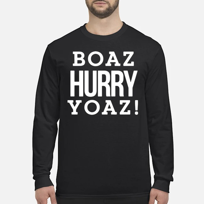 Boaz Hurry Yoaz Long Sleeved T-Shirt