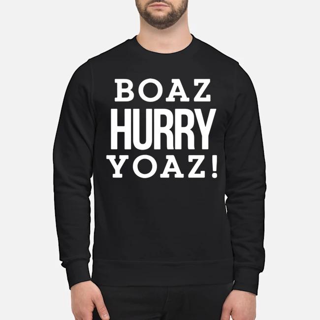 Boaz Hurry Yoaz Sweater