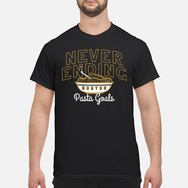 Boston Hockey Never Ending Pasta Goals Shirt