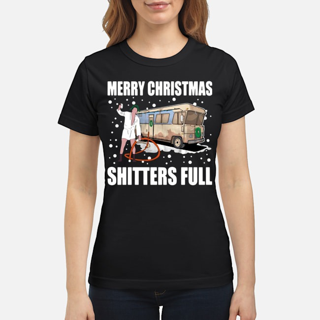 Cousin Eddie Merry Christmas Shitters Full Ladies