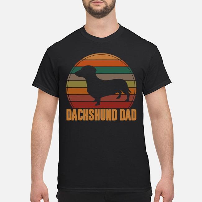 Dachshund Dad vintage shirt