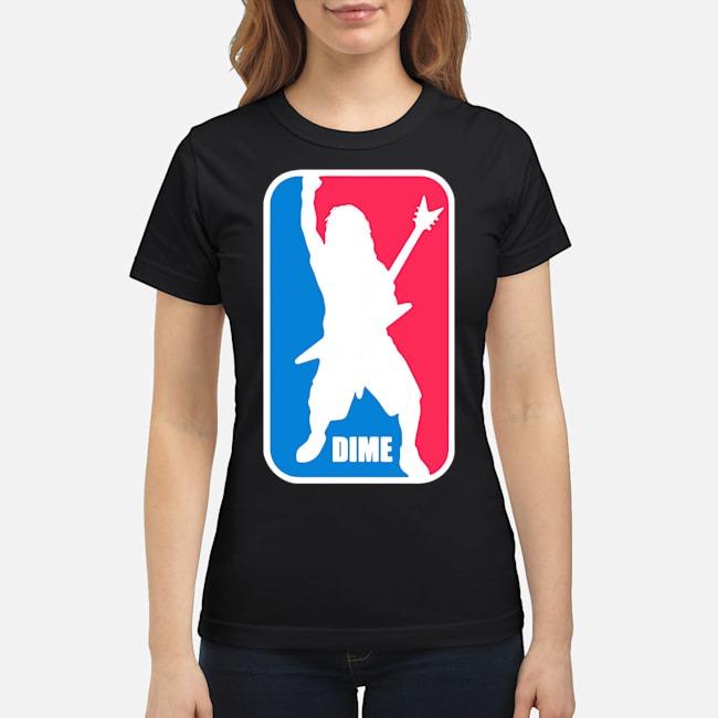 Dime Dimebag Darrell Sport Logo Ladies