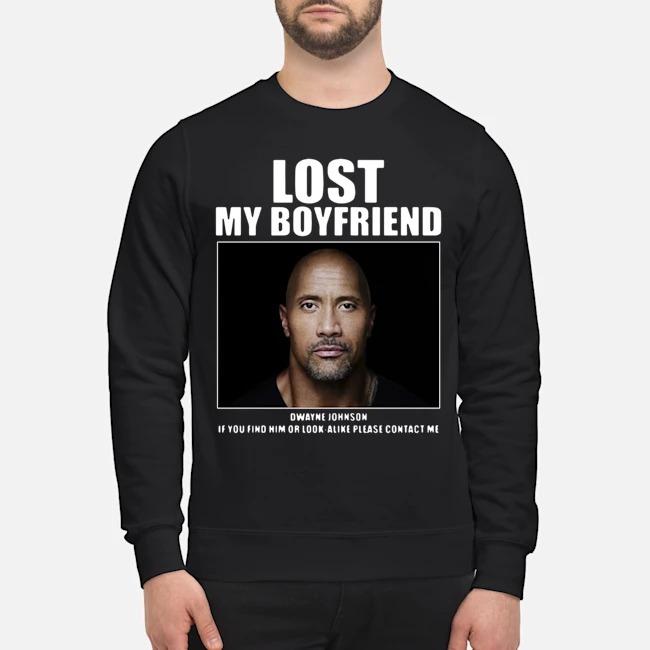 Dwayne Johnson Lost My Boyfriend Sweater