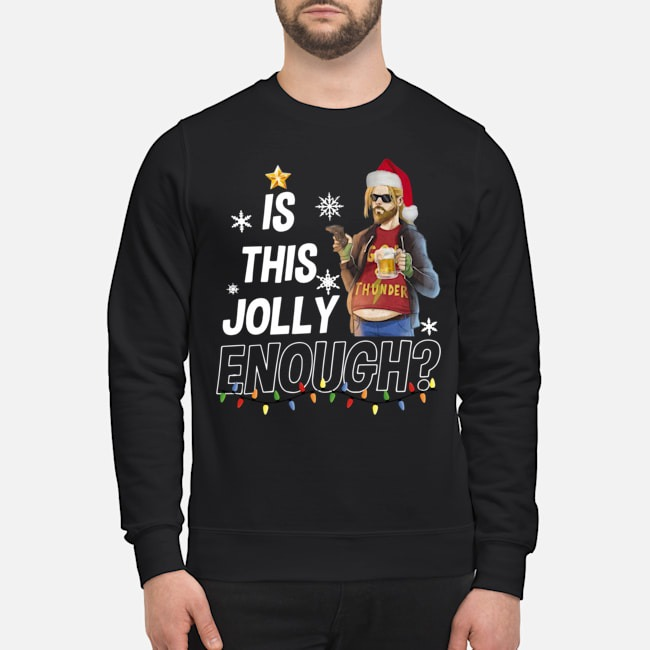 Fat Thor is this jolly enough Christmas Sweater