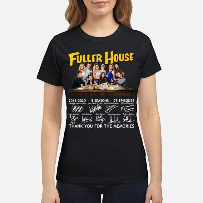 Fuller House 2016-2020 5 seasons 75 episodes thank you for the memories Ladies