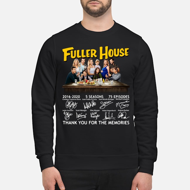 Fuller House 2016-2020 5 seasons 75 episodes thank you for the memories Sweater