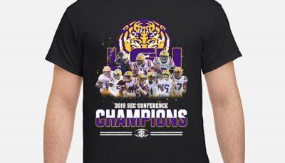LSU Tigers 2019 Sec Conference Champions Shirt
