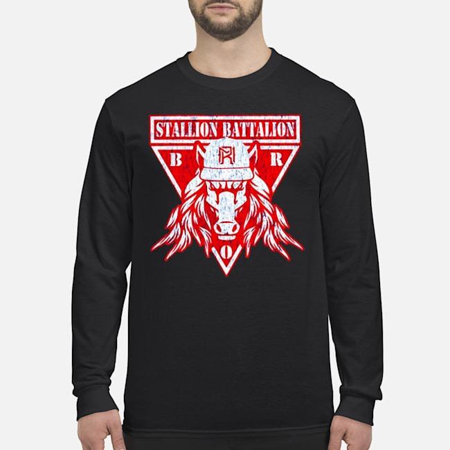 Matt Riddle Stallion Battalion Authentic Long Sleeved T-Shirt