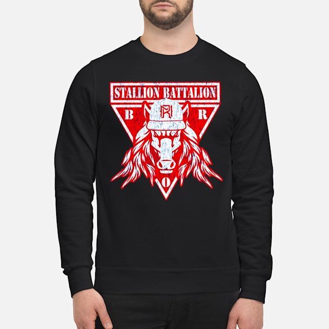 Matt Riddle Stallion Battalion Authentic Sweater