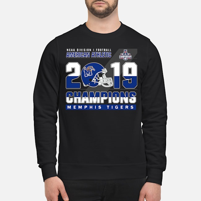 Memphis Tigers NCAA Division i Football Athletic Athletic 2019 Champions Sweater