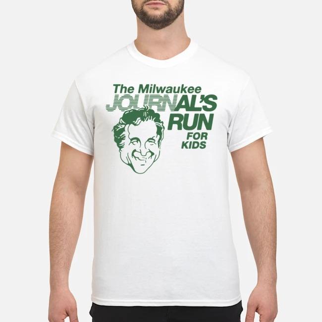 Milwaukee Journal's Run For Kids Shirt