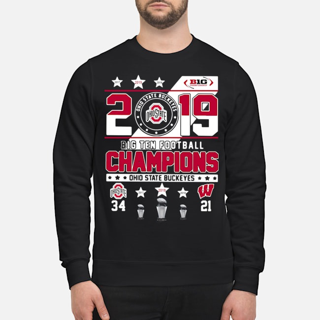 Ohio State Buckeyes 2019 Big Ten Football Champions Sweater