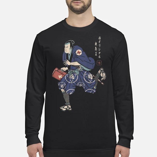 Samurai Paramedis Long Sleeved T-Shirt