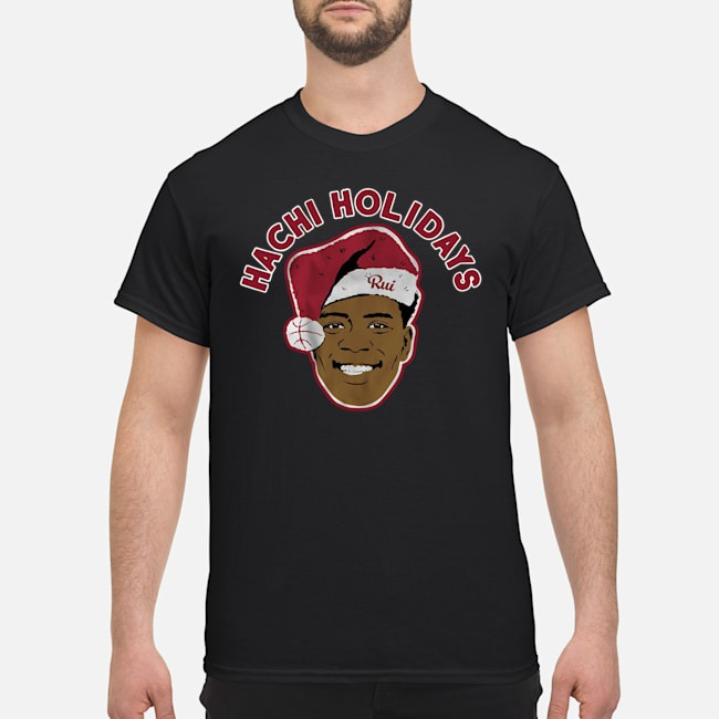 Santa Hachi Holidays Shirt