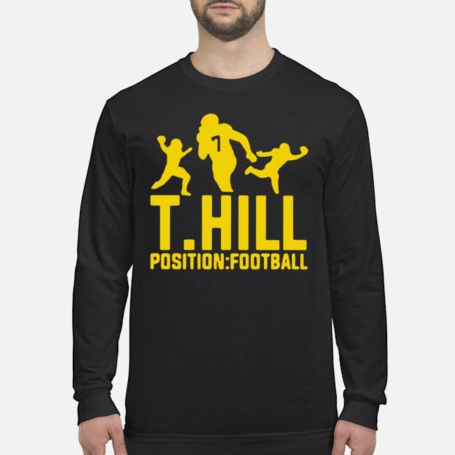 Taysom Hill Position Football Jersey Long Sleeved T-Shirt