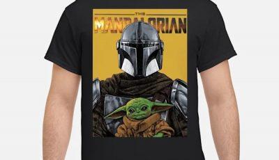 The Mandalorian Darth Vader And Baby Yoda Shirt