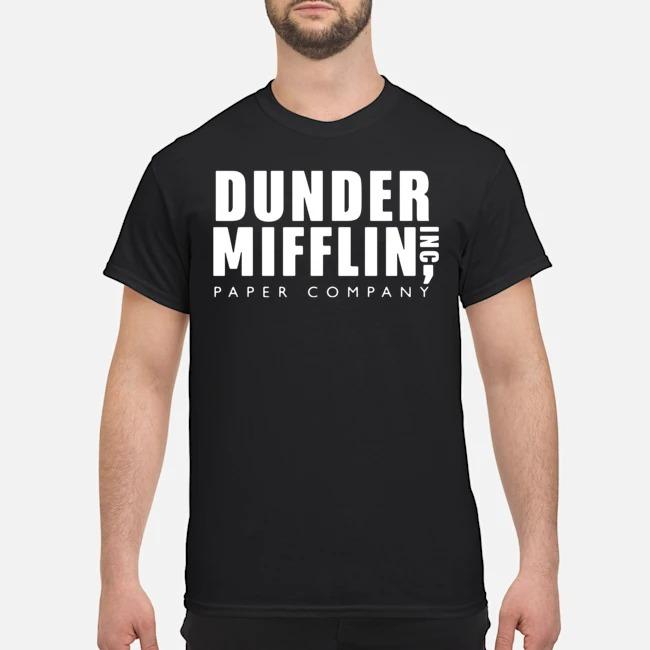 The Office Dunder Mifflin Inc Paper Company Shirt