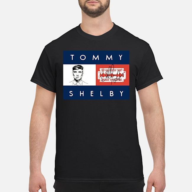 Tommy Shelby By Order Of The Peaky Blinders Signature Shirt