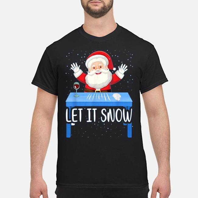 Walmart Cocaine Santa Let It Snow Christmas Sweater