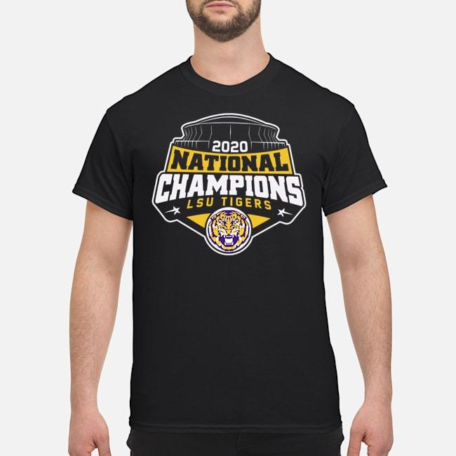 2020 National Champions LSU Tigers Shirt