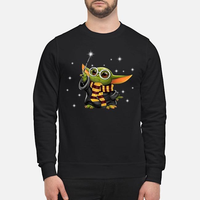 Baby Yoda Harry Potter Sweater