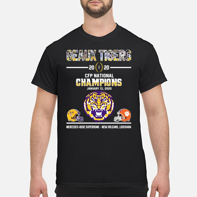 Geaux Tigers 2020 Cfp National Champions Shirt