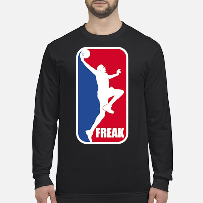 Greek-Freak-Giannis Basketbal Long Sleeved T-Shirt