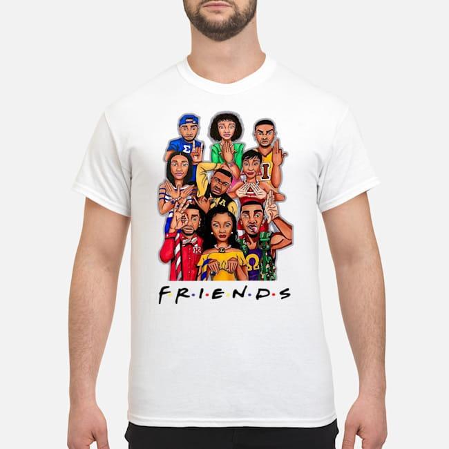 Greek Unity Friends Shirt